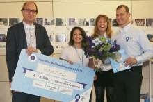 Vågkraftsprojekt vann EU:s största tävling för klimatsmarta affärsidéer