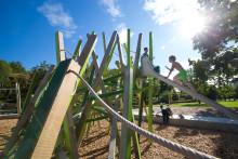 Drakenbergsparken får toppbetyg av barnen!