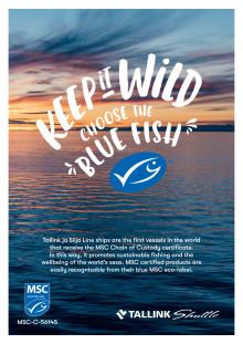 MSC-certifikat Tallink Silja