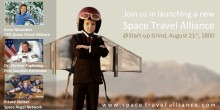 Ikväll tar Sverige klivet ut i rymden - Space Travel Alliance lanseras på Startup Grind