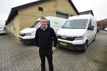 Citylogistik lejer 11 elektriske varebiler af typen MAN eTGE og gør klar til videreudvikle helt ny forretningsmodel