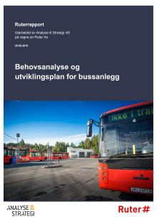 Behovsanalyse og utviklingsplan for bussanlegg