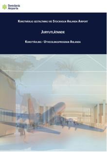 Juryutlåtande och presentation av Konsttävling Arlanda Juni 2018