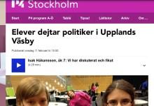 Ung i Väsby på radio Stockholm