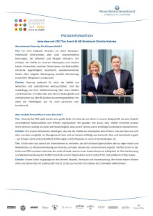 Interview mit CEO Tim Paech & HR Direktorin Christin Kohnke
