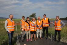 Solen skinner på ny solmåler på Flesland