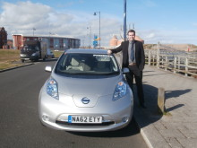 North East electric cab fleet becomes biggest in country
