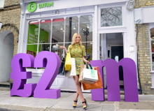From bags to riches- Laura Whitmore celebrates £2m raised in first year of Nectar and Oxfam initiative
