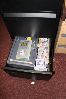 £3.5m money launderers tried to stuff cash into office drawer