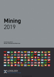 Getting the Deal Through Mining Sweden 2019