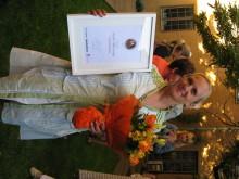 """Volontärbyråns grundare Amelie Silfverstolpe vinnare av Veckans Affärers """"Social Capitalist Award"""""""