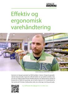 Case: Effektiv og ergonomisk varehåndtering