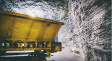 Satsning på fossilfritt gruvbrytningssystem