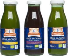Grönt är skönt! Fyll på vitaminförrådet under hösten med Kung Markattas ekologiska Gröna Smoothies