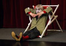 Clownen Dimitri till Kulturhuset i Ytterjärna