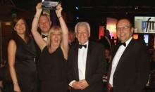 Mitie picks up partnership award at PFM Awards 2014
