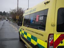 Falck fordobler britisk ambulance-forretning