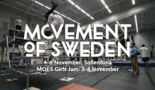 Pressinbjudan: Movement of Sweden – Nordens största sammankomst för parkour, freerunning och tricking