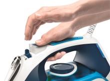 Bosch kommer med ny SensorSecure teknologi:  Hånd på – jern på. Hånd av – jern av.