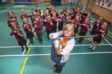 Education experiment creates a class of primary schoolmusicians