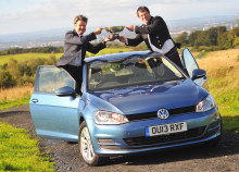 Volkswagen Golf crowned Scottish Car of the Year 2013