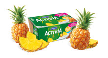 Activia gästas av sommarsmaken Ananas