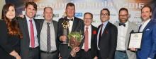 Retursystem Byggpall - vinnare av utmärkelsen Årets Återanvändare vid Återvinningsgalan