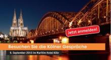 Kölner Gespräche 2015