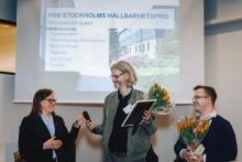 Hållbarhetspris till HSB brf Agaten i Nacka
