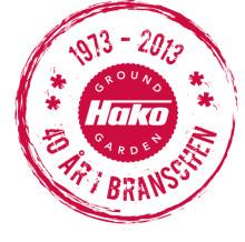 40 år i branschen – Hako Ground & Garden AB fyller 40 år!