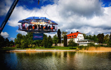 Unikt möteskoncept tar Happy Tammsvik mot högre höjder - Happy Meeting 360 sker i svävande mötesrum