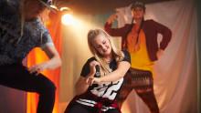 Dansuppvisning på Elof Lindälvs gymnasium
