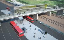 Nu stannar det första regionaltåget i Barkarby