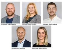 Nordic PM utökar arbetsstyrkan med fem nya medarbetare
