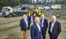 Volvo kraftsamlar i Förbifart Stockholm