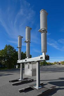 Sveriges första 145 kV effektbrytare med vacuum & clean-airteknik installerad