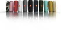 Førsteklasses lyd. Intelligente funktioner. JBL Flip 5 og JBL LIVE-serien slår benene væk under dig