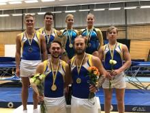 Medaljdag på NM i trampolin i Göteborg