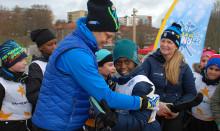 Pressinbjudan:  2 200 fjärdeklassare får pröva skidåkning på Gärdet