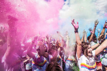 The Color Run sätter färg på årets Kulturnatten i Lund