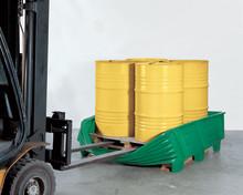 Flexibelt uppsamlingskärl för en säker hantering av kemikalier