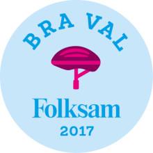 """Stadium-hjälm utsedd till """"Bra val"""" av Folksam"""