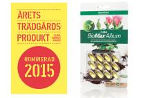 BioMax F-Plus nominerad till årets trädgårdsprodukt