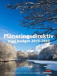 Planeringsdirektiv med budget 2015-2017