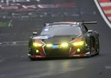 Stark insats av Sandström under dramatisk 24-timmars på Nürburgring