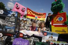 Milstolpe för LEGOLAND® - 50 miljoner besökare
