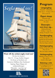Program Oxelösund 16-19 aug 2013