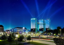 Gothia Towers the largest hotel in Europe to be certified according to BREEAM, the world's most widely used environmental certification