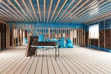 Lektum Fastigheter bygger nya hyreslägenheter med Knauf Insulation