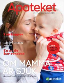 Nu har tidningen Apoteket nr 2 2014 kommit till apoteken.